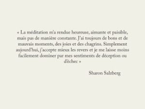 Citation de Sharon Salzberg