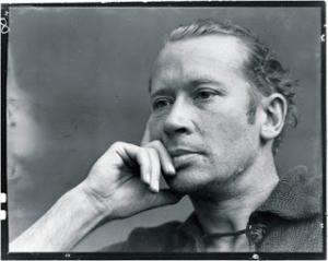 Photo d'un visage d'homme par Edward Weston