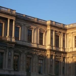 Photo d'une façade de la Cour carrée