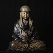 Image d'une sculpture de méditant