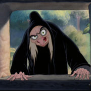 Image d'une sorcière de dessin animé