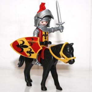 Image d'un chevalier playmobil