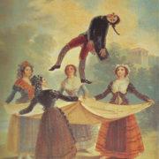 """Tableau de Goya """"Les Saltimbanques"""""""