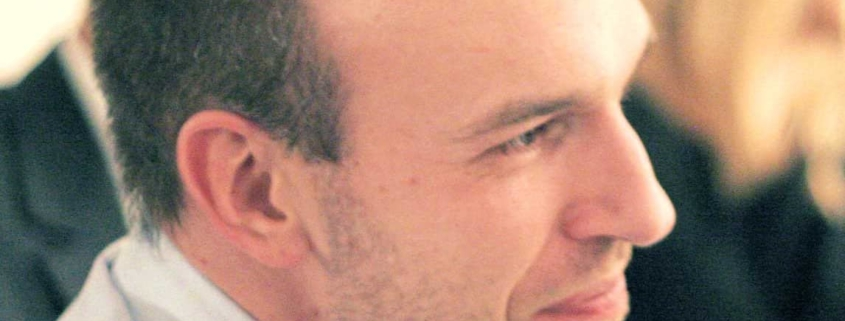 Photo d'Hadrien France-Lanord, philosophe et enseignant à l'École occidentale de méditation, fondée par Fabrice Midal