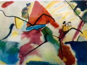 Rythme, un tableau de Kandinsky