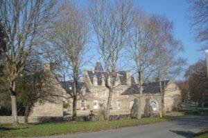 Photographie du manoir de la Vicomté à Dinard.