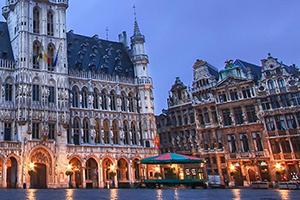 Photo d'une vue de Bruxelles