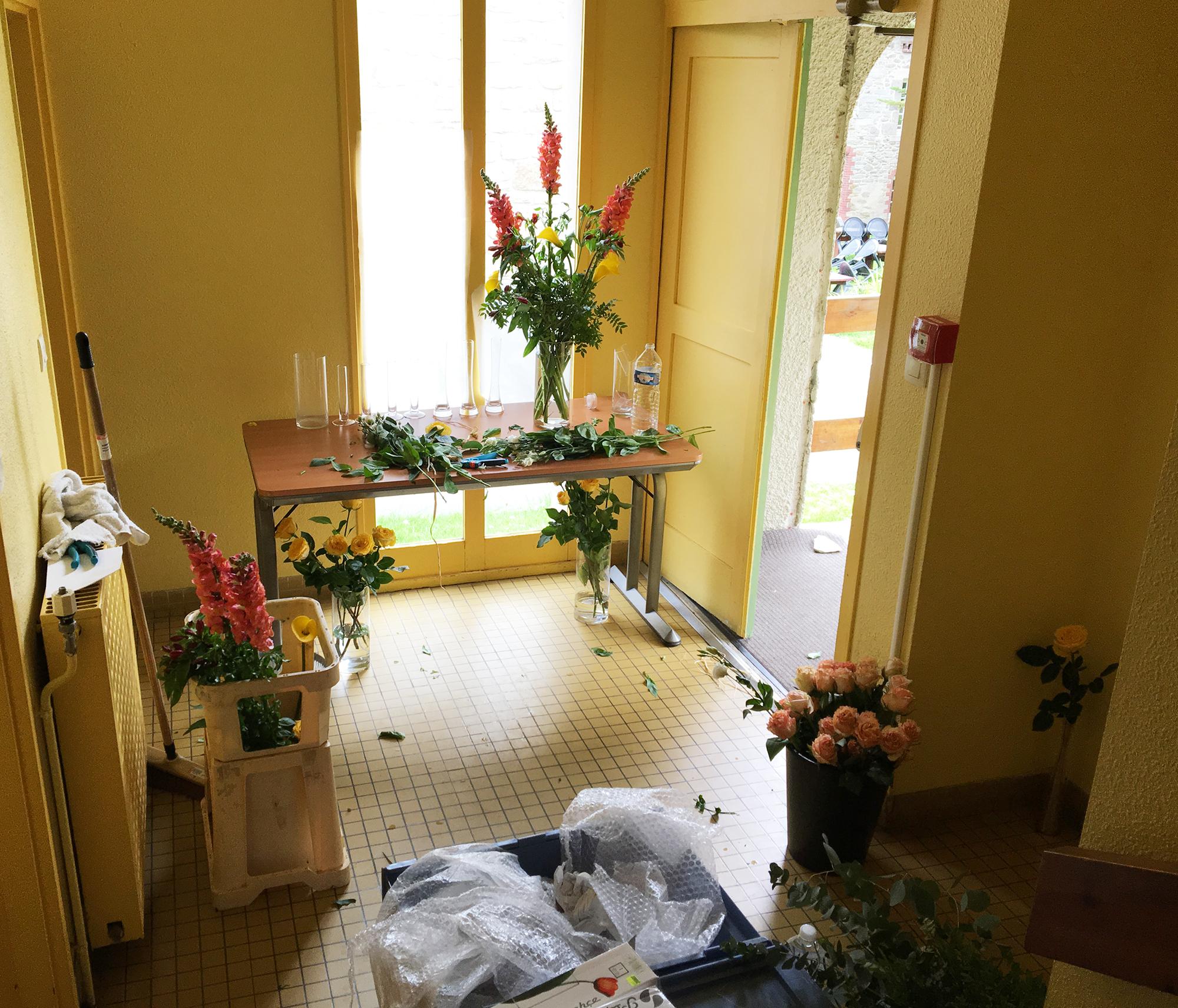 Décoration Salle De Méditation pourquoi y a-t-il toujours des fleurs à l'École occidentale