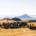 Vue sur le massif des Bauges.
