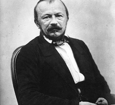 Portrait photographique de Gérard de Nerval