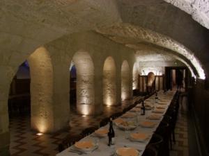 Photo de la salle à manger du château Le Kinnor