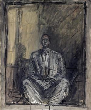Portrait de Jean Genet par Alberto Giacometti.