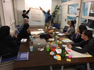 Photo d'une réunion de la Mindfulness solidaire