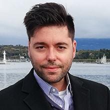 Photo de José Martinez, méditant référent de l'École occidentale de méditation à Genève