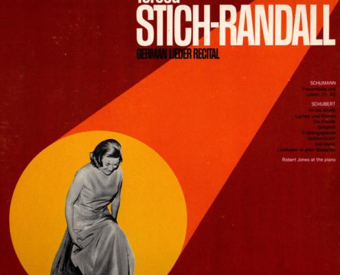 Image de la pochette d'un disque de Teresa Stich-Randall