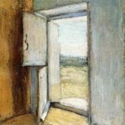 """Tableau d'Henri Matisse intitulé """"Porte ouverte en Bretagne""""."""