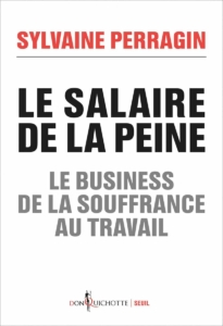 """Couverture du livre """"Le salaire de la peine"""", de Sylvaine Perragin"""