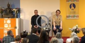 Image de la vidéo de présentation de la retraite bouddhiste par Alexis Lavis