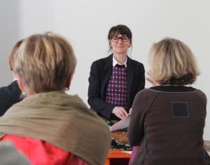 Photo de Marie-Laurence Cattoire, intervenant à l'École occidentale de méditation
