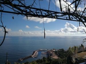 Vue sur la mer de Nice