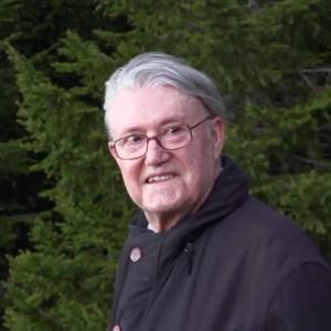 Photo de François Fédier, philosophe et enseignant à l'École occidentale de méditation