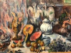 Photo d'une nature morte de Cézanne