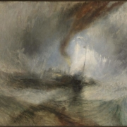 Tempête de neige, tableau de Turner