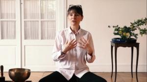 Photo de Marie-Laurence Cattoire, enseignante à l'École ociddentale de méditation