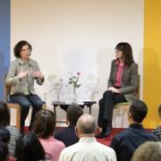 Photo de la rencontre avec Marie-Pierre Dillenseger