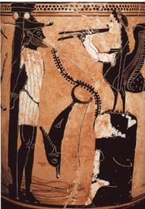 Photo d'une scène des voyages d'Ulysse