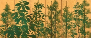 "Photo ""Trees on a folding screen"""