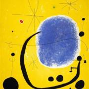 """Photo du tableau """"L'or de l'azur"""" (1967) de Miró"""