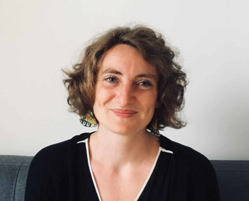 Photo de Justine Bonnieux, enseignante à L'École de méditation
