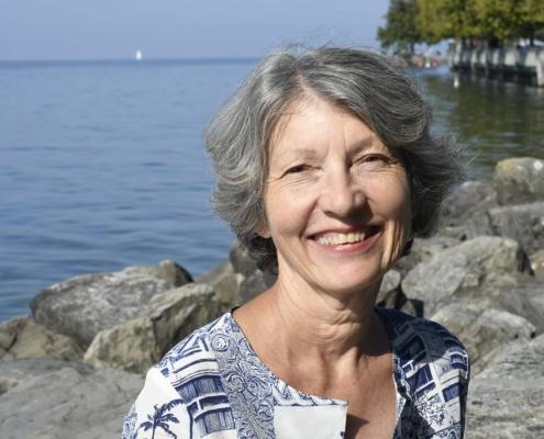 Photo de Marie-Thérèse Spahn Grin, enseignante à L'École de méditation