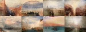 Photo-montage de tableaux de William Turner