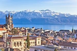 Photo de la ville de Lausanne