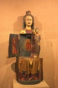 Photo d'une Vierge ouvrante