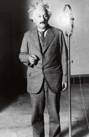 Photo d'Einstein