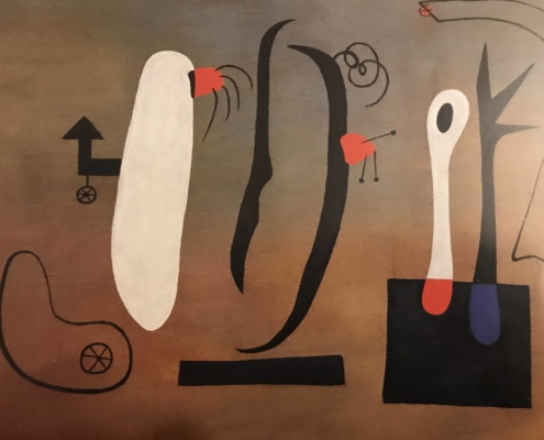 """Image du tableau de Miró """"Peinture"""" (1933)"""
