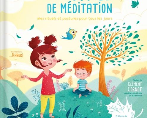 """Couverture du livre de Clément Cornet """"Mon petit voyage de méditation"""""""