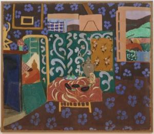 Matisse, Intérieur aux aubergines (1911)