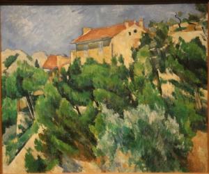 Paysage en Provence, Cézanne