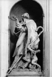 Sculpture d'Alessandro Sauli (Pierre Puget)t