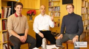 Photo de Mathieu Brégégère, Fabrice Midal et Martin Monin