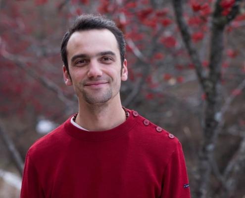 Photo de Mathieu Boillat, enseignant à L'École de méditation